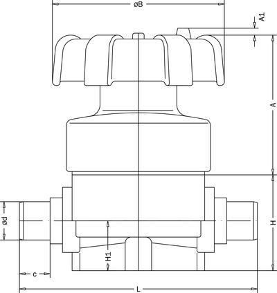Pvdf diaphragm valves with male socket fusion ends 070001007 produktreihenbild ccuart Image collections
