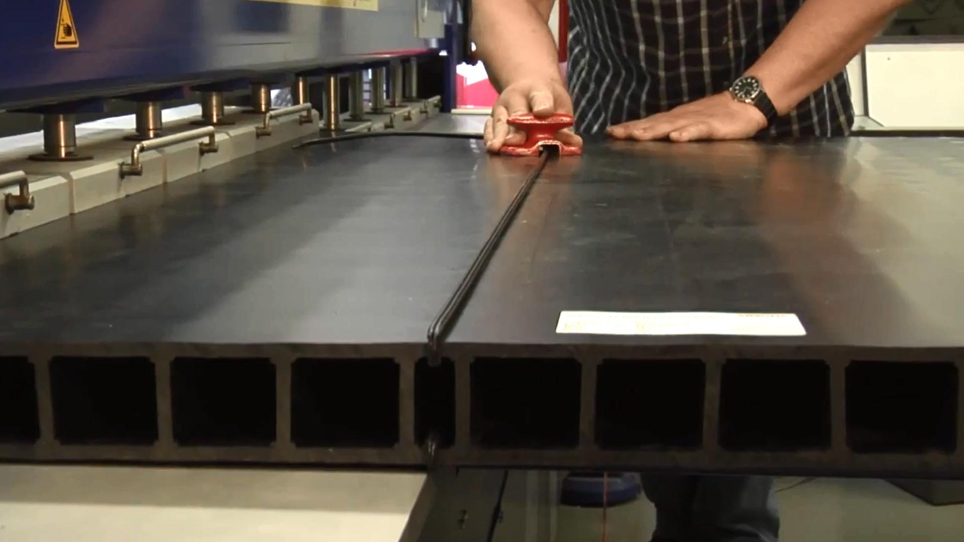 SIMONA® PP-H AlphaPlus® Hohlkammerplatten; L=3000 mm; B=1000 mm; H ...